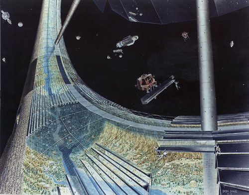 Toroidal Space Colony from 1970