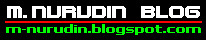 Blog Pribadi M. Nurudin