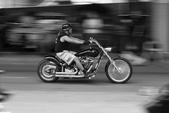 (Vitaliy P.) Tags: show street new york city nyc white motion black blur film monochrome car brooklyn club lens 50mm nikon f14 explore chrome motorcycle williamsburg gothamist pan manual panning ais rumblers explored d80 kustomkillsandhotrodthrills vitaliyp