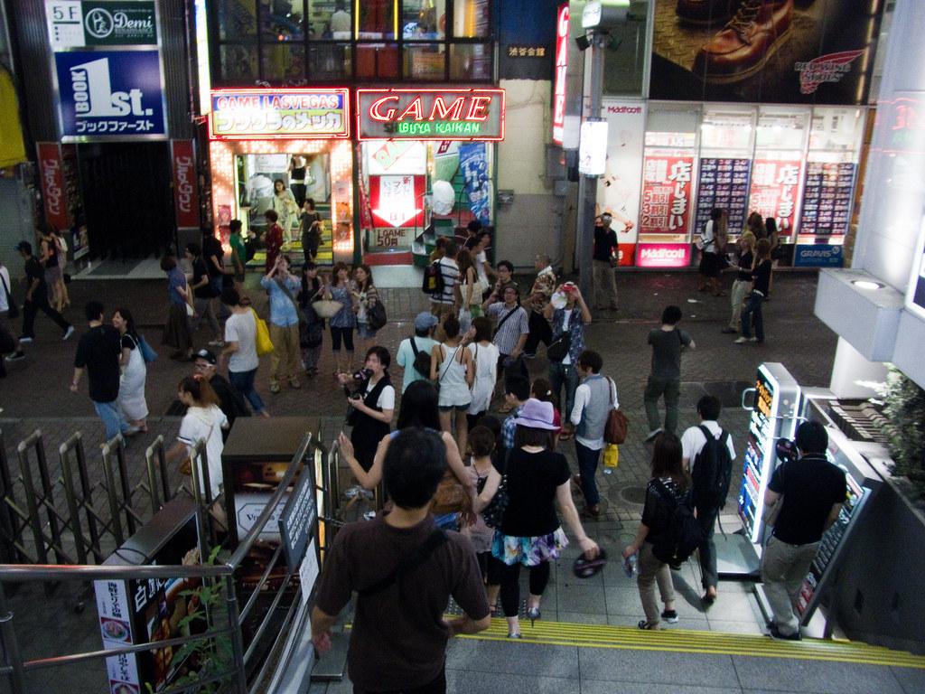 The Last day of HMV shibuya Japan1273
