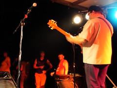 Bill Ritter solos at the Kickapoo Kick