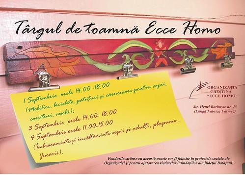 Târgul de toamnă al Fundației Ecce-Homo 2010