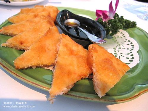 香米月亮蝦餅