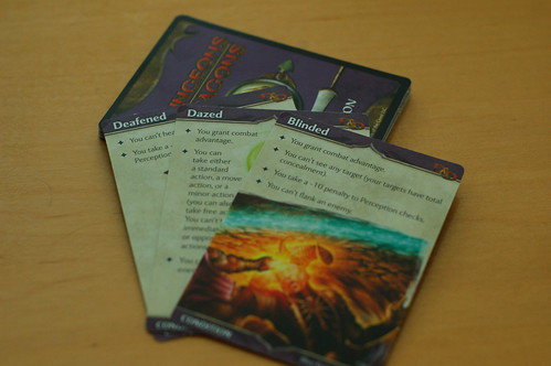 D&D Condition Card Set