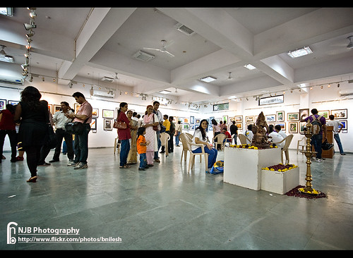 Exhibition Hall_Pratibimb 2010