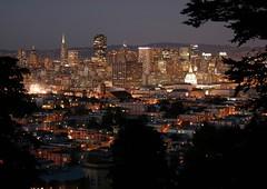 (Kev Z.) Tags: sf california ca city longexposure urban skyline night digital canon eos rebel lights evening bay san francisco nighttime area dslr xti