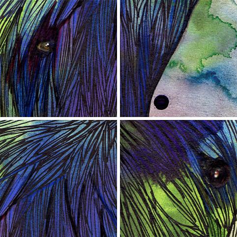 Monstres détails © Emilie Vasset
