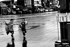 Brother in Arms (DirtyTrick) Tags: poverty boy kids children brothers philippines poor social manila reportage aromas