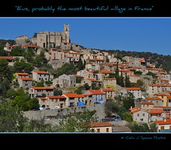 Eus, probably the most beautiful village in France (Colin J Spence.....thank you for 350,000+ viewings) Tags: france window doors shutters eus fiatlux villagebeautiful