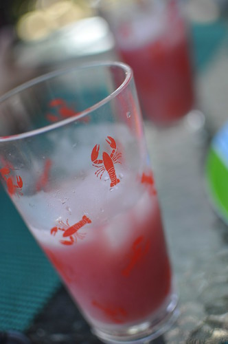 Seabreeze and lobster glass
