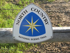 North Country National Scenic Trail Sign