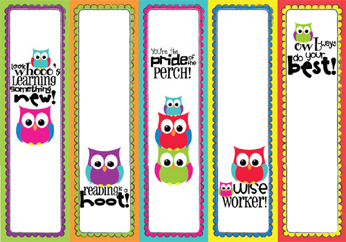 My Owl Barn Back To School Owl Freebie