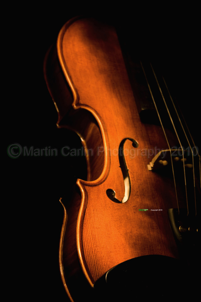 Violin by tourch