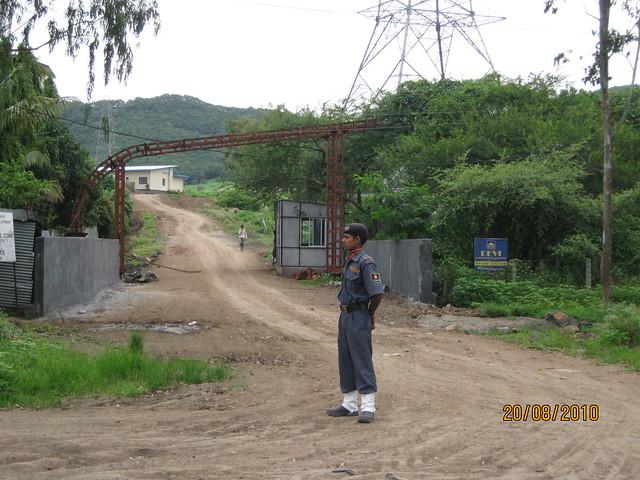 Tata La Montana Talegaon Pune - Entrance of Tata La Montana Talegaon Pune - Can you see DEVI?