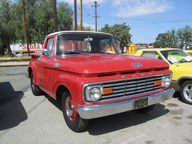 ford pickup f100 1963