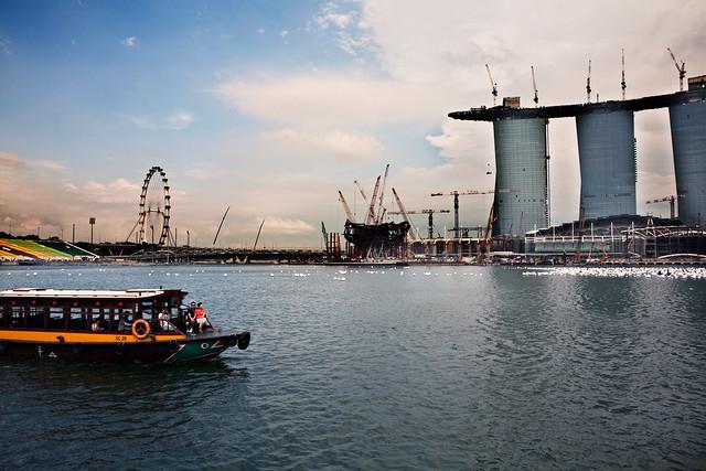singapore harbors