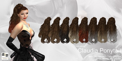 Tukinowaguma Claudia Ponytail Wide