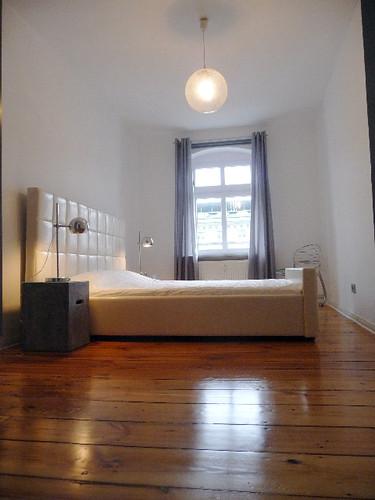 Stylish one-bedroom apartment in Berlin - Bedroom