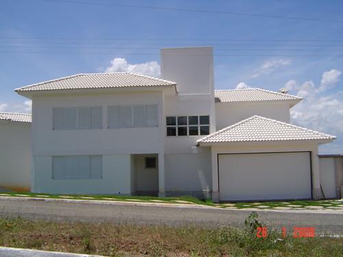 telhados de casas modernos