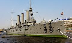 Cruiser Aurora St Petersburg (Eddie Crutchley) Tags: stpetersburg russia cruiseraurora