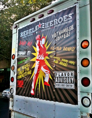 Rebel Heroes food truck