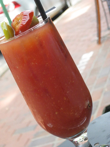 Bloody Mary at Mother's