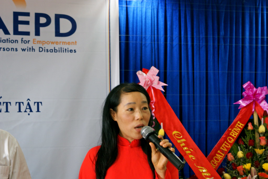 Ms. Dung, AEPD chair woman
