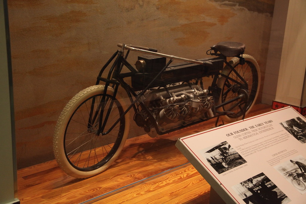 Glenn Curtiss Motorcycle Test Bed