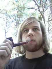 Smokin' Pipe (fhmetalguitarist) Tags: beard smoke tobaccopipe