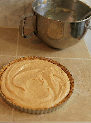 No-Bake Peanut Butter Tart