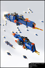 Scor Capital Fleet (Pierre E Fieschi) Tags: ship lego pierre micro spaceship homeworld fleet spacecraft starship microspace fieschi microscale microspacetopia