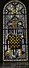 Death and a knight (tommyajohansson) Tags: window geotagged skeleton death sweden schweden chess stainedglass smland knight sverige dden stainedglasswindow vxj chessboard domkyrka schack faved sude fnster skelett riddare vxjcathedral tommyajohansson schackbrde vxjdomkyrka