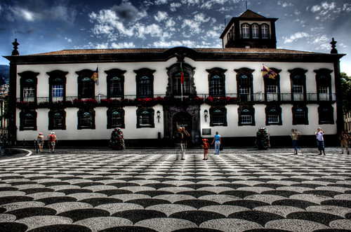 City hall. Funchal, Madeira. Portugal. Ayuntamiento