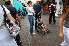 Paris (ElishaBrady) Tags: family people paris france îledefrance child stroller tourists républiquefrançaise frenchrepublic