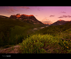 20100626_D3_0916-8 (thomasps) Tags: plants mountain canada tree ecology weather sunrise landscape dawn nikon environment rockymountains peaks environmentalism cloudformation ecosystem canadianrockies nikond3 wildgg