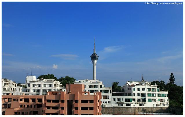 城市中的旅遊塔