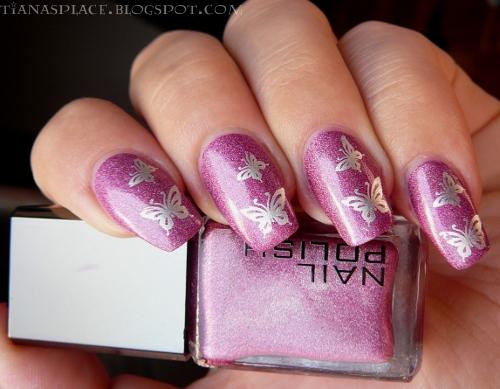 Pink butterflys #1