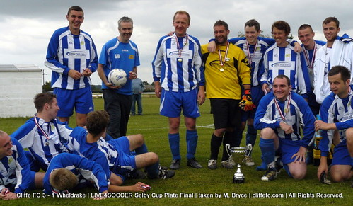 Cliffe FC 3 - 1 Wheldrake (Selby Cup Plate Final) 30Aug10