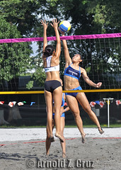 Angela vs. Charleen (arnold_cruz) Tags: beach volleyball uaap