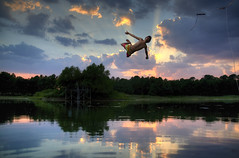 Watch This (JustinJensen) Tags: summer sky sun lake water swimming swim pond texas tx rope swing 24 portfolio splash ropeswing getty10 thepinnaclehof tphofweek68