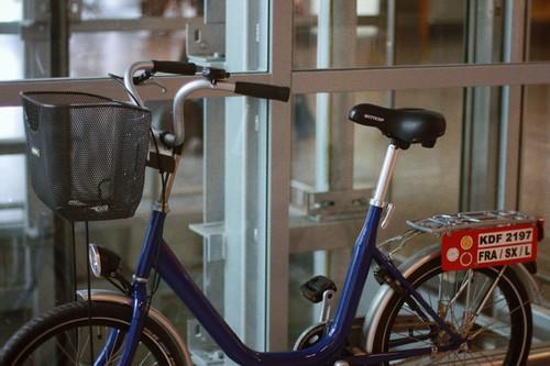 bike in the terminal