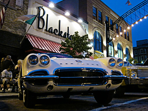 1962 Corvette at Blackstone's