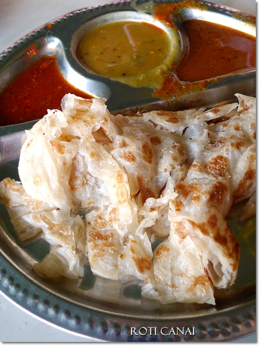 Roti Canai - Indian Flatbread