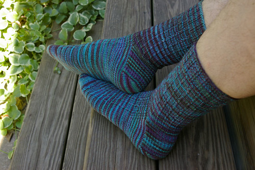 Charade Socks - Finished
