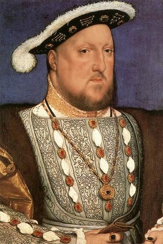 030-Portarretrato de Enrique VIII 1536-Hans Holbein el Joven