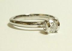 Loop set single diamond
