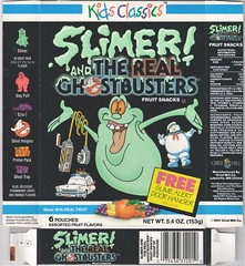 1991 Slimer & The Real Ghostbusters Fruit Snacks box (daniel85r) Tags: ghostbusters 90s slimer fruitsnacks