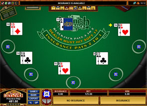 Multi Hand Spanish 21 Blackjack Win