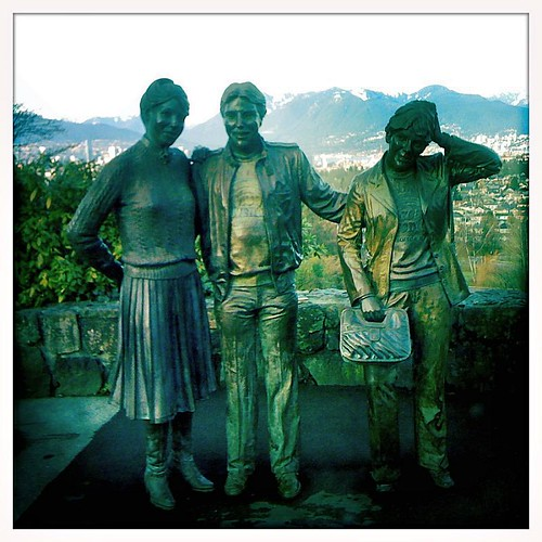 """Family Portrait"" Sculpture at Queen Elizabeth Park"