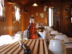 Maple Sugar Shack Dining Room